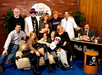 One night at Psycho Babble TV - November 2009
