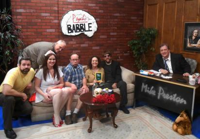 Psycho Babble TV Show Cast