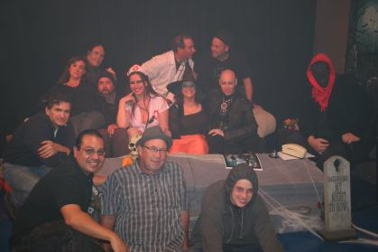 The 2016 Psycho Babble Halloween show cast of characters